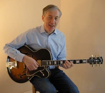 Chris Flegg Playing The Gibson L5 Custom Electric Guitar