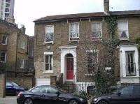 A typical house in Sidney Rd, Stockwell, London. In the 1950's a house such as the one in the picture often housed numerous families.