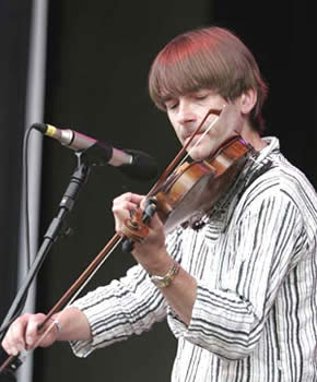 Simon Mayor As Well As Being An Accomplished Mandolinist Is Also An Excellent Fiddle Player