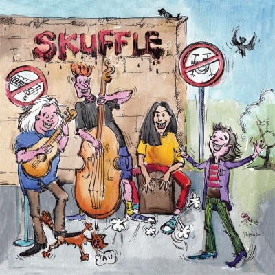 Skuffle CD Booklet Cover