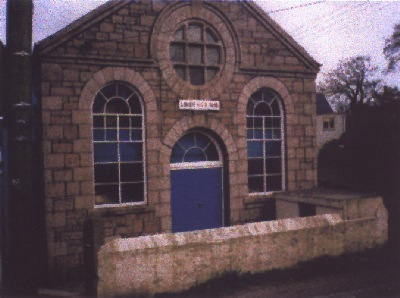 Band HQ The Old Chapel on Lanner Moor